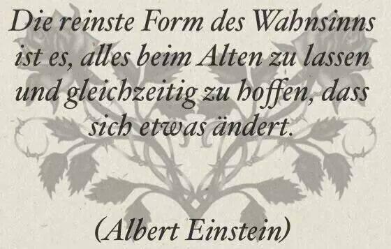 Einstein sagt etwas entscheidendes zum Thema Änderungen